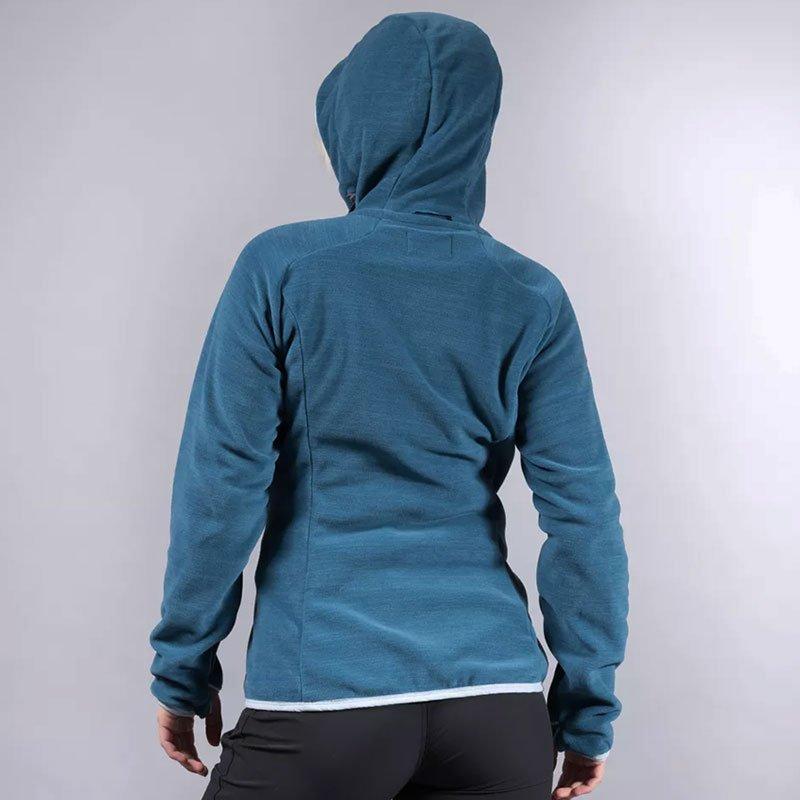 Bergans Hareid Fleece Women Jacket Polartec® Fleecejacke Damen mit Kapuze