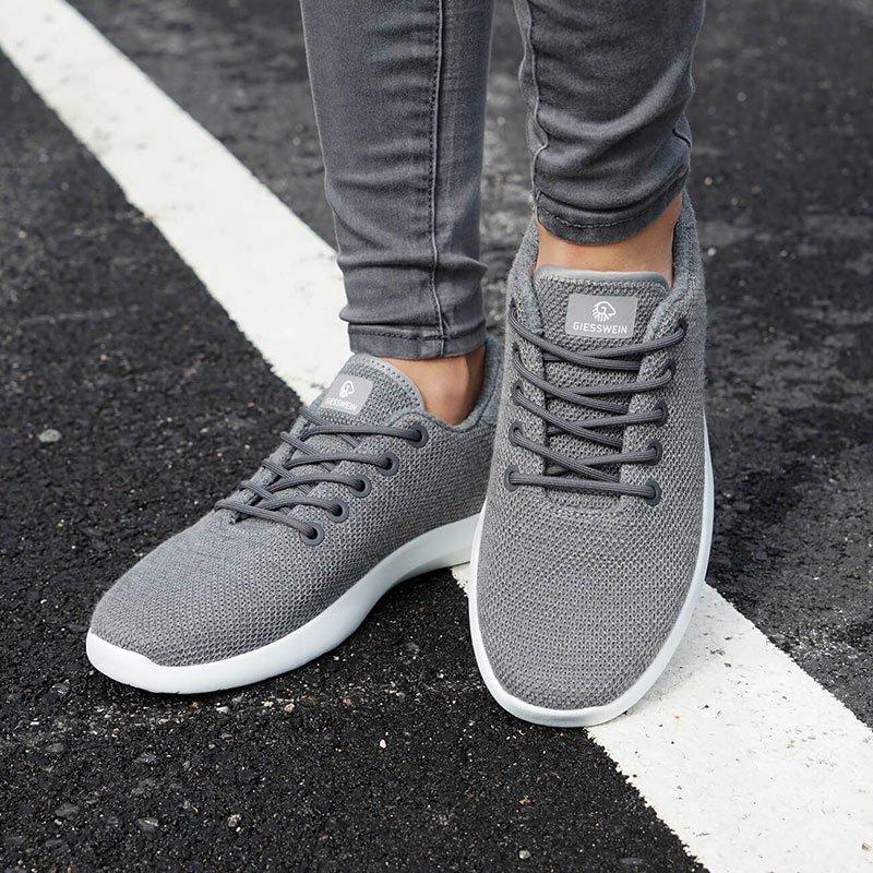 GIESSWEIN Merino Wool Knit Women Merinowolle SneakerFreizeitschuhe Damen