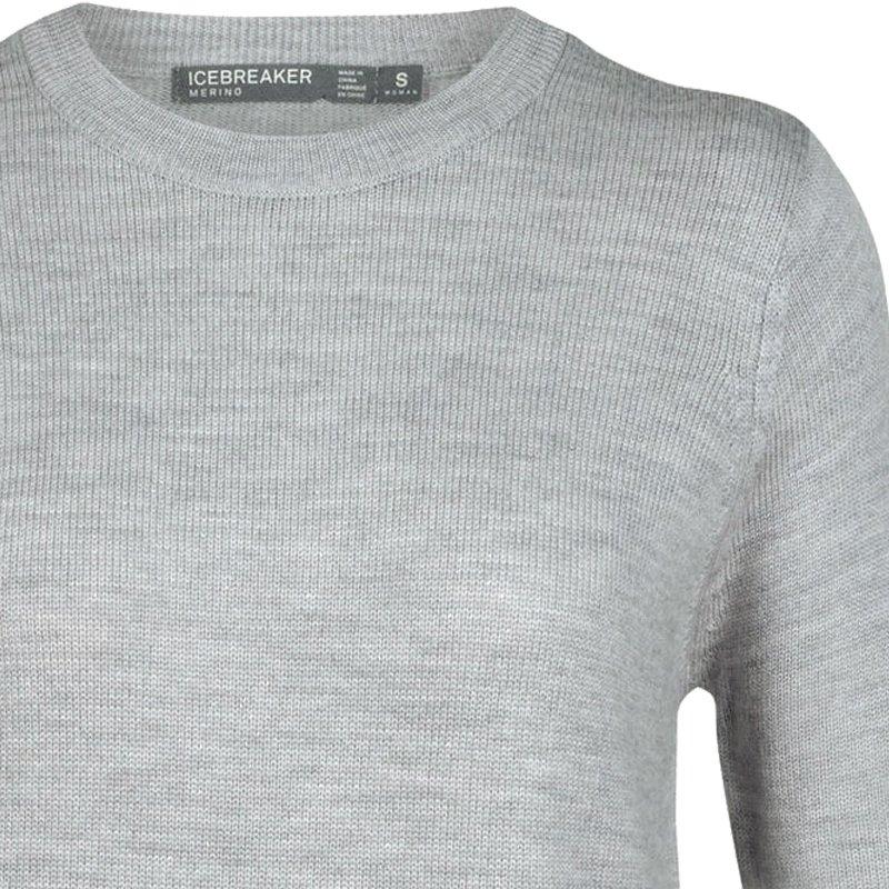 new product 21d87 09ad5 Icebreaker Wmns Muster Crewe Sweater | mitteldicker Merinowolle  Strickpullover Damen