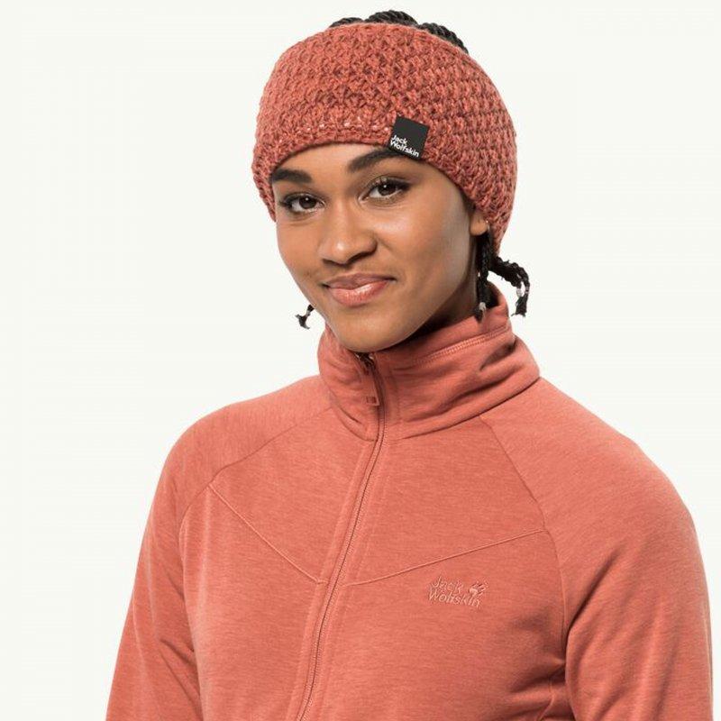 Jack Wolfskin Highloft Knit Headband Women gefüttertes Strick Stirnband Damen