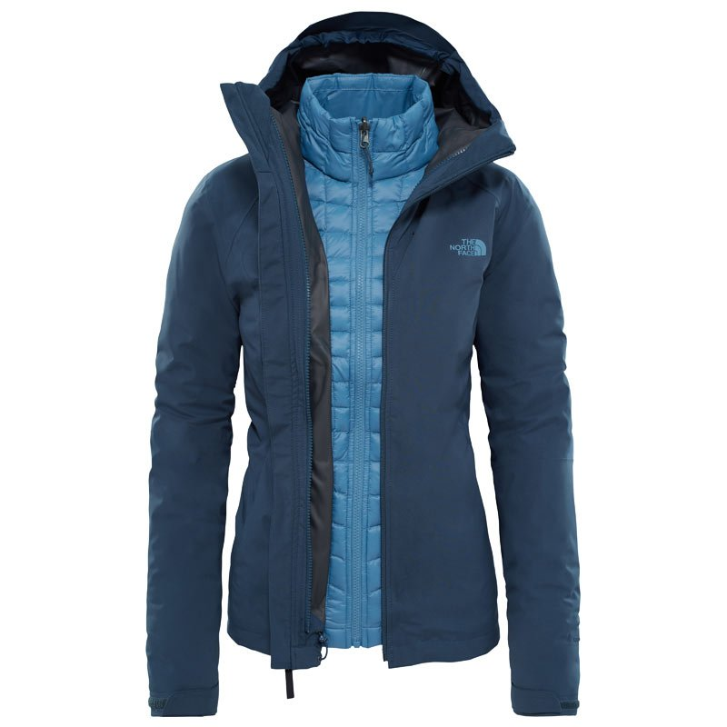 low priced 6979b 2b2cd North Face Women's ThermoBall Triclimate Jacket 3in1 Doppeljacke Damen mit  Unterarmbelüftung