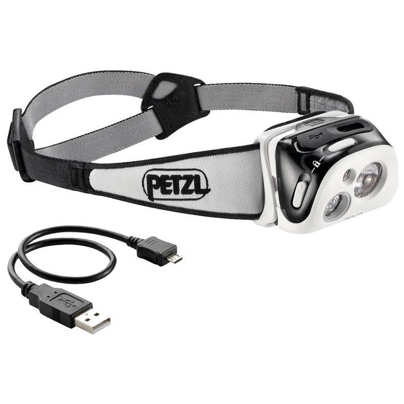 petzl reactik wieder aufladbare performance led stirnlampe 300 lume. Black Bedroom Furniture Sets. Home Design Ideas