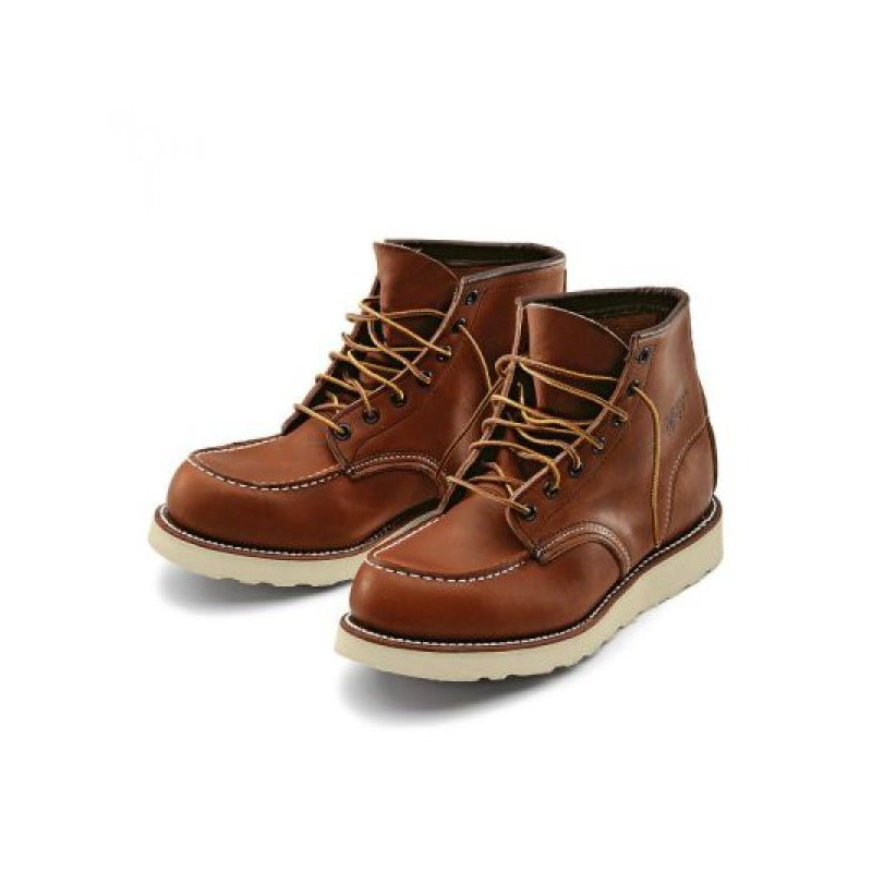 red wing 875 heritage work moc toe boot rindleder schuhe. Black Bedroom Furniture Sets. Home Design Ideas