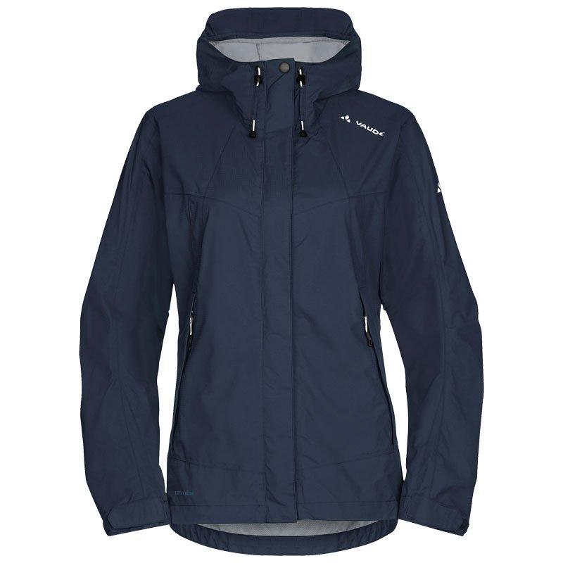 vaude women 39 s lierne jacket 2 5 lagen regenjacke damen mit unterarmbe. Black Bedroom Furniture Sets. Home Design Ideas