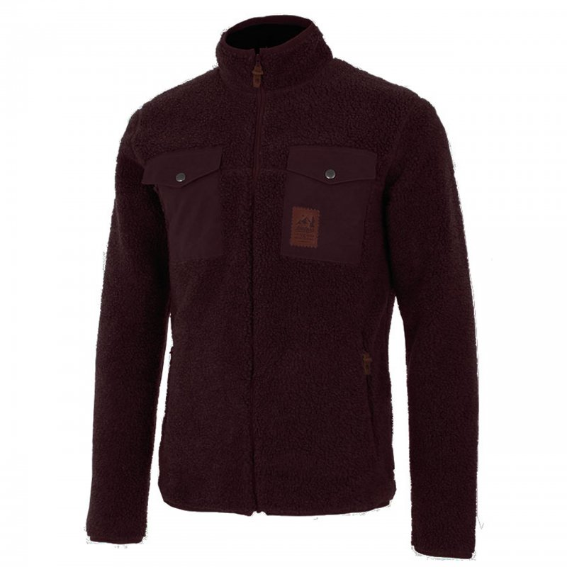 teddy fleece jacke herren