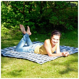Amazonas Travel Blanket Ultra Light wasserdichte Picknickdecke/Outdoordecke
