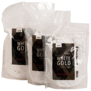 Black Diamond uncut White Gold | Loses Chalk/Magnesium