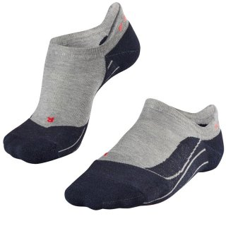 FALKE Running RU4 Invisible Women kurze Laufsocken Damen/Kurzsocken Damen light grey 39-40