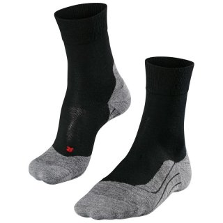 FALKE Running RU4 Wool Men Laufsocken Herren schwarz 44-45