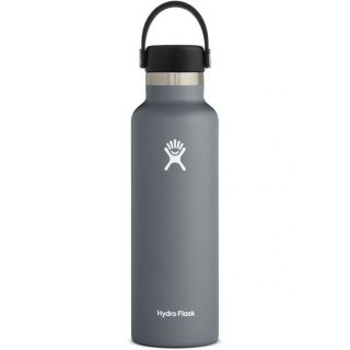 Hydro Flask Bottle Standard Mouth - Isolierflasche/Thermoflasche stone 627 ml / 21 oz