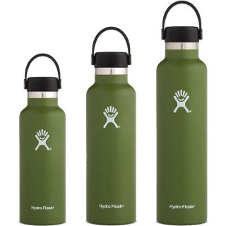 Hydro Flask Bottle Standard Mouth - Isolierflasche/Thermoflasche black 532 ml / 18 oz