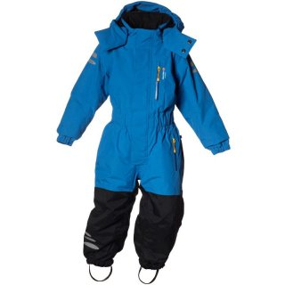 ISBJÖRN of Schweden Igloo Winter Jumpsuit Winteroverall Kinder wächst mit blau 80