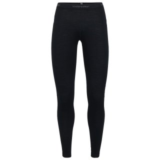 Icebreaker Wmns 200 Oasis Leggings | Merinowolle Leggings Damen, 200 g/m² black M