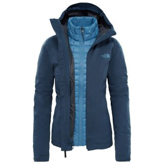 North Face Womens ThermoBall Triclimate Jacket 3in1 - Doppeljacke Damen mit Unterarmbelüftung ink blue S