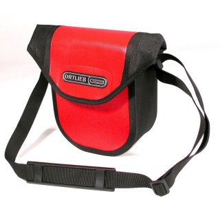 Ortlieb Ultimate Six Compact Lenkertasche mit Schultergurt red - black