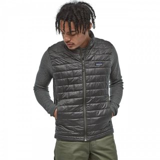 Patagonia Mens Nano Puff Vest - ultraleichte Thermoweste Herren  Roots Red 52 / L