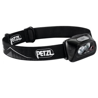 Petzl Actik - Outdoor LED-Stirnlampe, 350 Lumen schwarz One Size