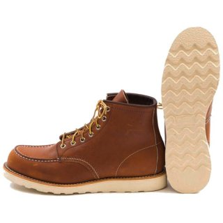 Red Wing 875 Heritage Work Moc Toe Boot Rindleder-Schuhe Herren 42.5 - 9.5 US