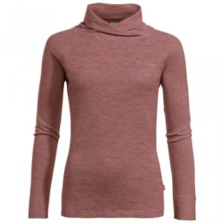 VAUDE Womens Altiplano LS T-Shirt - Langarmshirt Damen mit Wolle dusty rose XXXL / 46