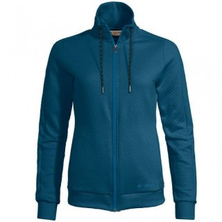 VAUDE Womens Redmont Cotton Jacket - Freizeitjacke Damen mit Stepp-Optik kingfisher 40 / M