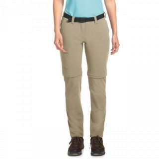 maier sports Inara slim zip Women | Zipp-Off Wanderhose Damen coriander 38
