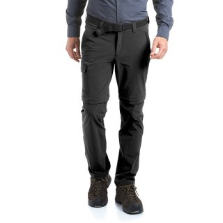 maier sports Torid slim zip Men | Zipp-Off Wanderhose Herren graphite 52