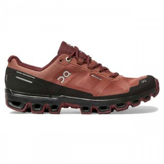on Cloudventure Waterproof - wasserdichte Trailrunningschuhe Damen hazel / mulberry 38.5 / 5.5 K